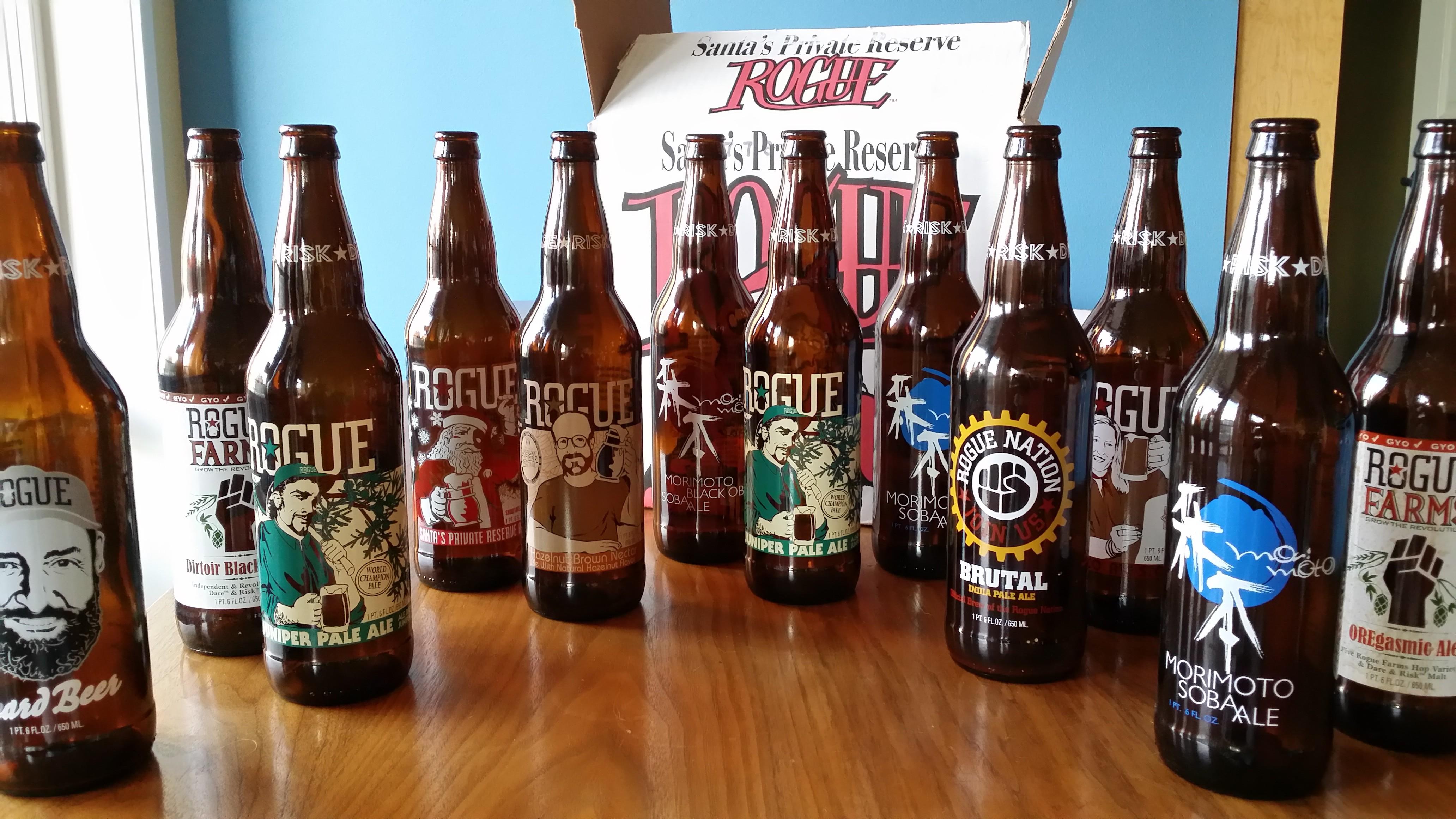 12 Rogue Ales of Christmas